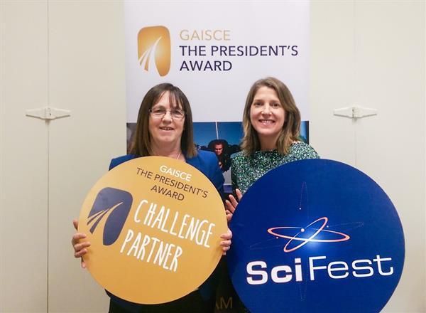 Gaisce Challenge Partner