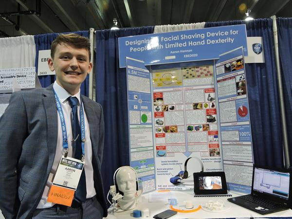 Aaron Hannon Wins at Intel ISEF