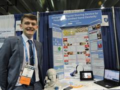 Aaron Hannon Wins at Intel ISEF