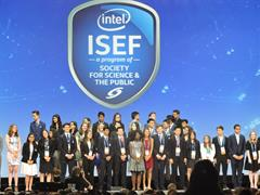 Watch Adam on Stage at Intel ISEF