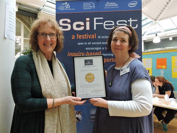 New SciFest STEM School Award