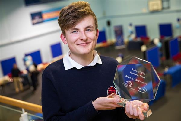 Adam Wins Top Prize at EUCYS