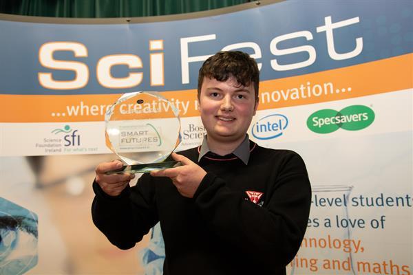 SciFest@College 2019 SFI Best Project Award winners