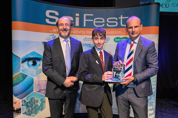 SciFest@College 2019 Specsavers Making a Difference Award