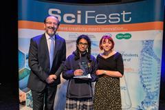SciFest@College 2019 Intel Award winners