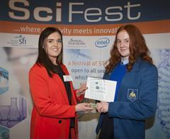 SciFest@College 2019 Boston Scientific Award winners