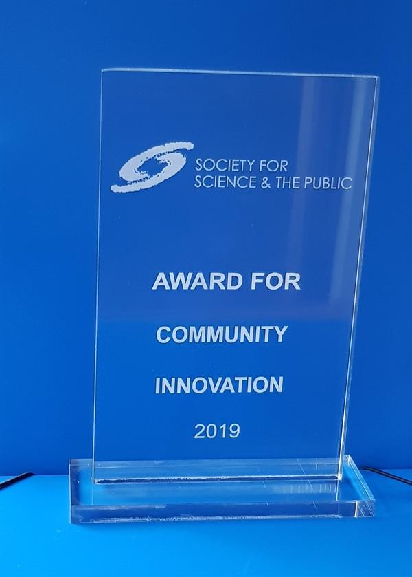 New Society4Science Award