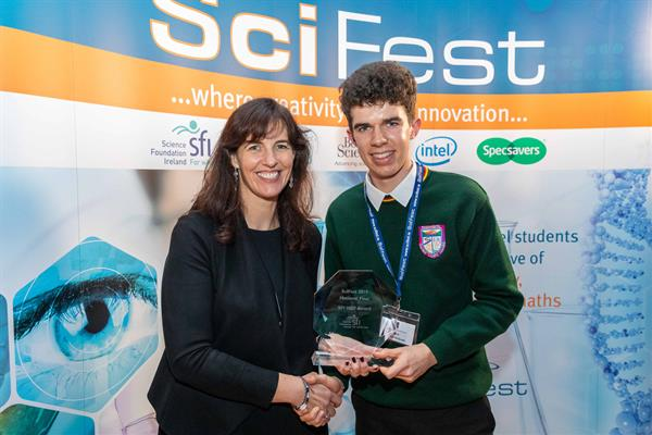 Timothy McGrath wins SciFest 2019