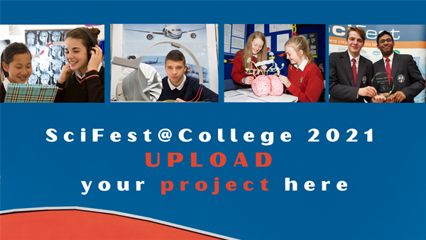 Upload Your SciFest Project Here