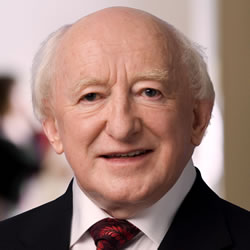 Michael D. Higgins, Patron of SciFest